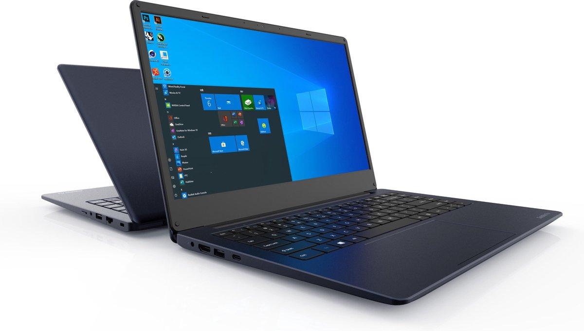 "Dynabook Satellite Pro C40-H-101 DDR4-SDRAM Notebook 35,6 cm (14"") 1920 x 1080 Pixels Intel® 10de generatie Core™ i5 8 GB 256 GB SSD Wi-Fi 5 (802.11ac) Windows 10 Pro Blauw"