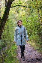 Nordberg softshell winterparka Gitte Herbal Green - maat S