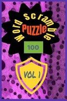 100 Word Scramble Puzzle Vol 1