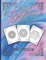 Easy Coloring Books For Adults