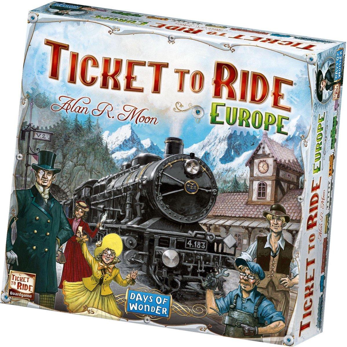 Ticket To Ride Europe - Engelstalig Bordspel