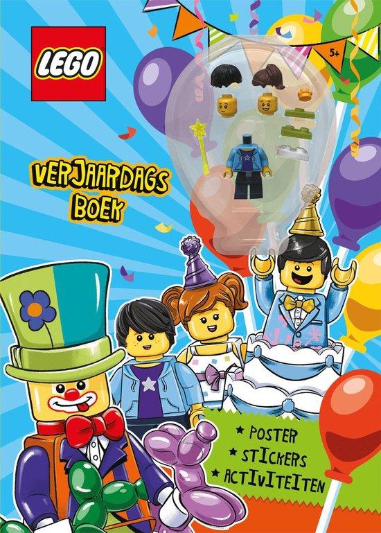 Afbeelding van Boek LEGO - verjaardag verrassingsboek LEGO License