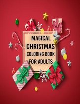 Magical Christmas Coloring Book for Adults