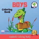 Coloring Book - Boys