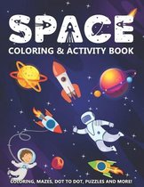Space Coloring & Activity Book