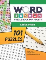 Word Search Puzzle Book For Adults - Large Print