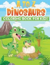 a to z dinosaurs coloring book for kids
