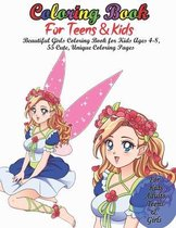 Coloring Book For Teens & Kids