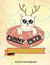 Funny Pets Coloring Book