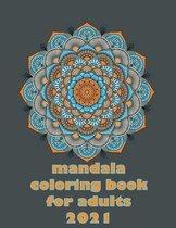 mandala coloring book for adults 2021