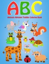 ABC Animals Alphabet Toddler Coloring Book: Coloring Book with The Learning Bugs