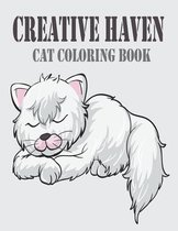 Creative Haven Cat Coloring Book