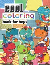 Cool Coloring Book for Boys