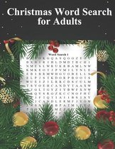 Christmas Word Search For Adults