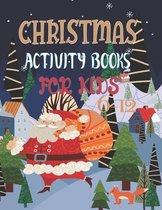 Christmas Activity Books For Kids 6-12