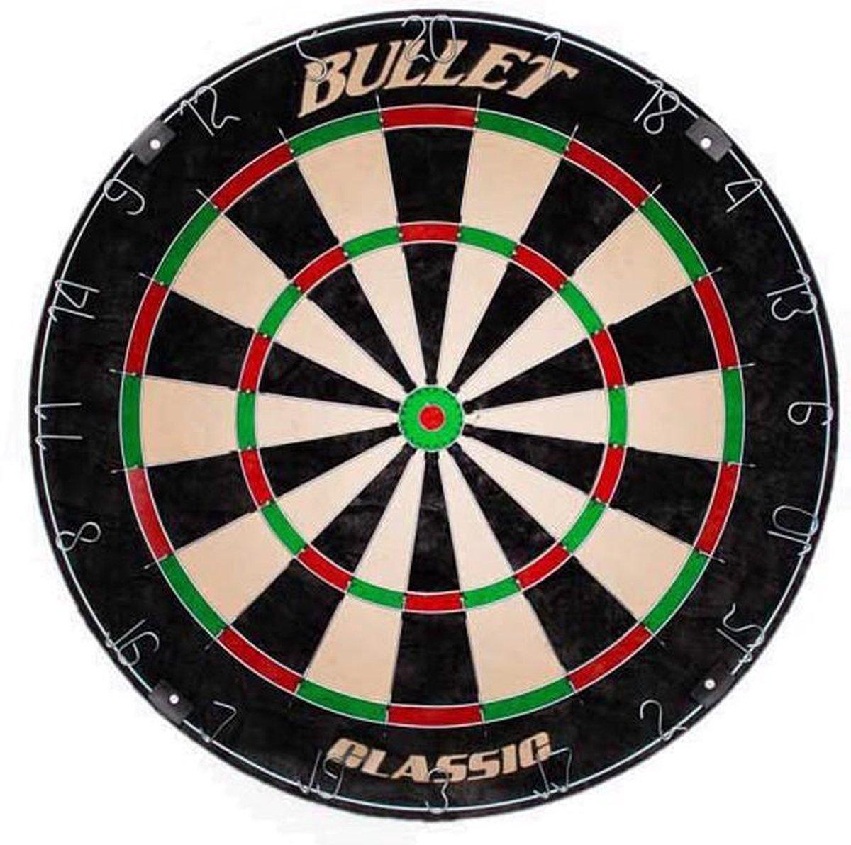 Dragon darts Bullet classic - dartbord - steeltip - sisal