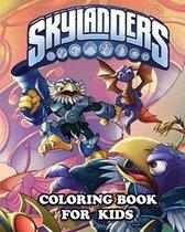Skylanders Coloring Book for Kids