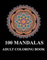 100 Mandalas adult coloring book