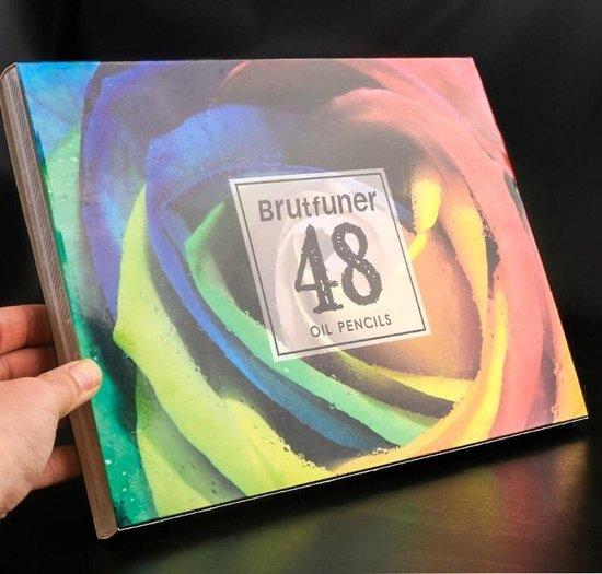 Afbeelding van Brutfuner olie kleurpotloden set 48st.