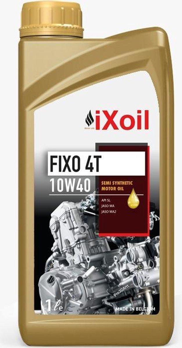 iXoil FIXO 4-TAKT 10W40 - Motorolie (100% Belgisch product)