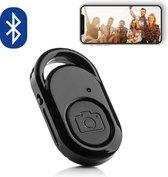 Bluetooth remote shutter afstandsbediening voor smartphone camera – Robuust – ZWART