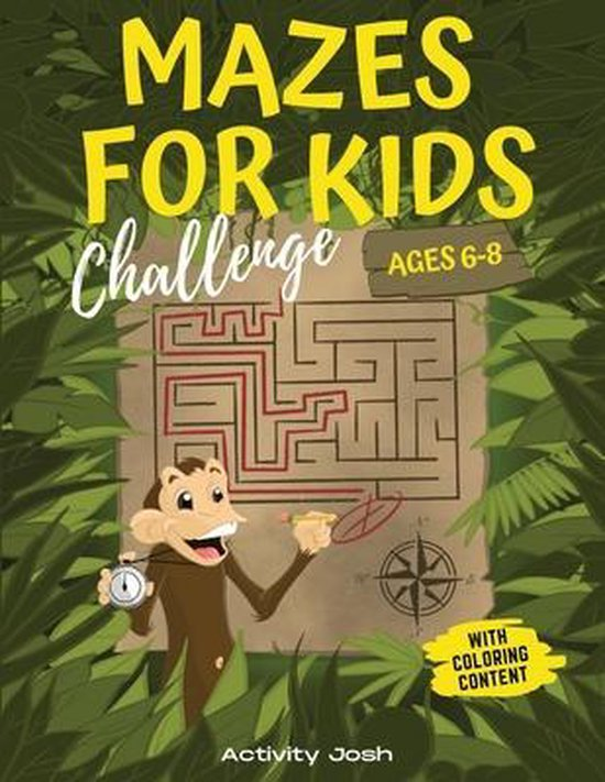 Mazes For Kids Ages 6-8 Challenge