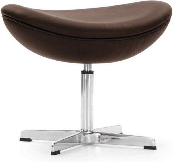 Egg Chair Roze.Bol Com Design Ottoman Egg Chair Ottoman Bruin