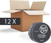 Red One Wax Zwart Gel Haarwax - Voordeelpakket