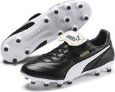 PUMA KING Top FG Voetbalschoenen - Puma Black-Puma White - Maat 44.5