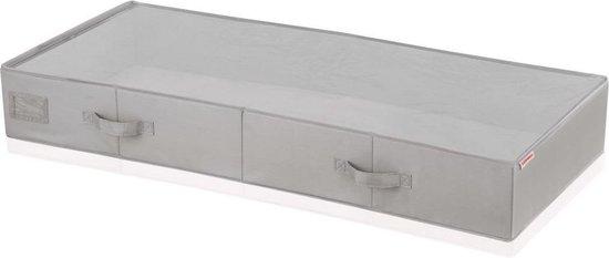 Betere bol.com | Leifheit Opbergdoos voor onder bed groot grijs 106x45x15 JF-09