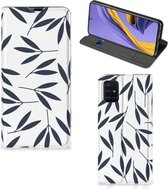 GSM Hoesje Samsung Galaxy A51 Leaves Blue