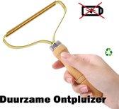Pluisverwijderaar Deluxe-ONTPLUIZER-DUURZAAM-PLUISVERWIJDERAAR-Koper-Duurzaam Cadeau- Geen Batterijen Nodig-Ontpiller-Pluisverwijderaar Pro-Pluisverwijderaar Bank-Wol Ontpiller-Singer Pluizendief-Pluisjesdief-Pluisjes Verwijderaar-Pluizentondeuse