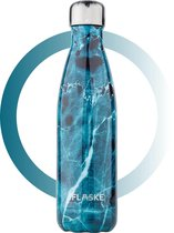 FLASKE Thermosfles - Marble Skye - Thermofles 500ml - Thermofles - Fles