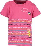 Blue Seven Meisjes T-shirt - Roze - Maat 68