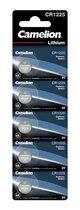 Camelion Lithium knoopcel CR2016, 3 Volt - 5 stuks