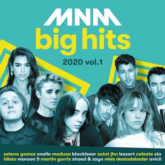 CD cover van Mnm Big Hits 2020.1 van MNM