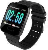 Smart&sport - Sportwatch - Sporthorloge - Bluetooth - Zwart