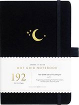 Archer & Olive Notitieboek A5 Dotted - Crescent Moon (192 pagina's)