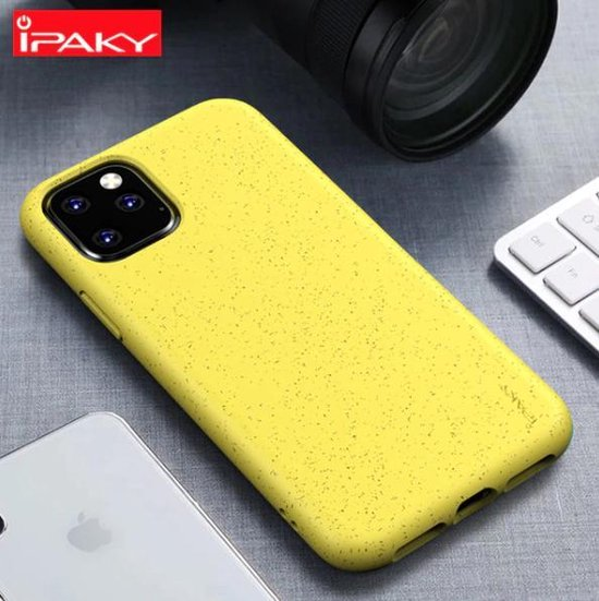 iPaky Schokproof iPhone 11 Hoesje - Geel - Silicon Backcover