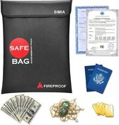 Premium Hittebestendige en Waterbestendige Zak - Brandbestendige Documentenhouder - Brandvertragende LiPo Safe Bag - Brandwerende Safebag - Vuurbestendig - Fireproof - 38,5 x 28,5 cm