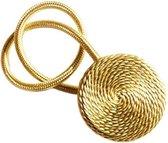 Magnetische Gordijnhouders Goud - Set van 2