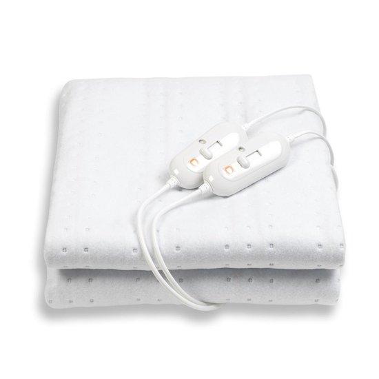 Cresta Care KTS102 Elektrische deken 2 persoons machine wasbaar cosy fleece 160x140 cm