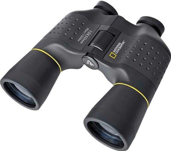 National Geographic Verrekijker - 10x50 Porro - Fijne Grip & Zeer Stabiel