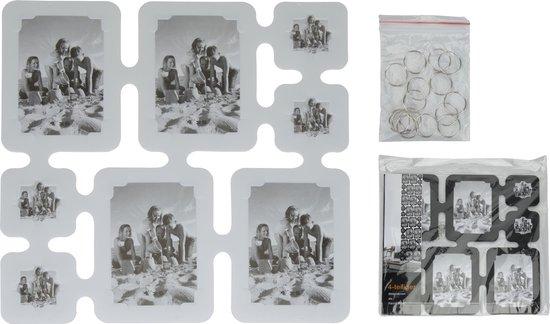 Fotolijst voor 32 Foto's 4 stuks van 40 x 40 cm Wit