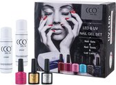 CCO Shellac - Startset met 48Watt Led/UV lamp - Gel nagellak
