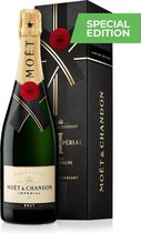 Moët & Chandon Brut Impérial Champagne - 150 Year Limited End of Year Edition - 1 x 75 cl