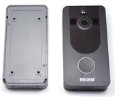 EKEN V7 HD video deurbel met camera + inclusief Oplaadbare Batterijen + Inclusief Gong + Nederlandse gebruiksaanwijzing
