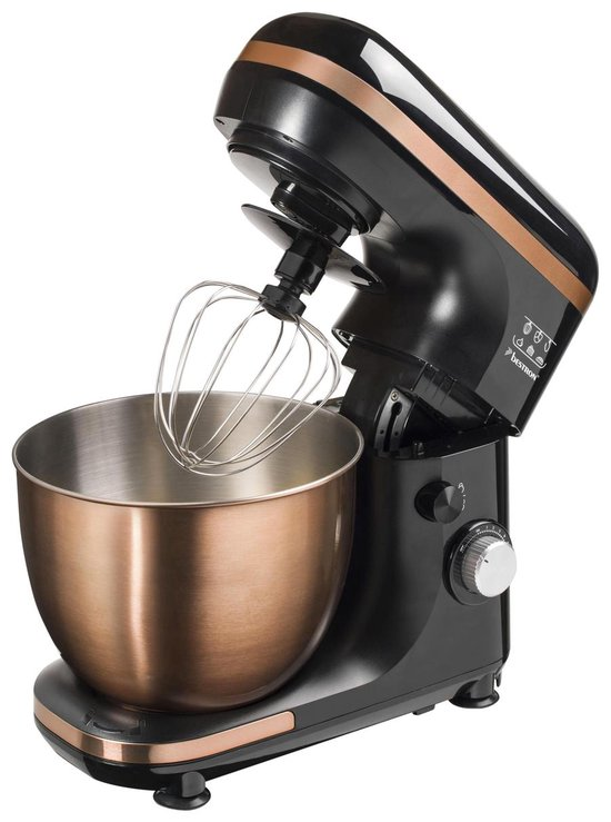 Bestron AKM900CO - Keukenmachine - Zwart/Brons