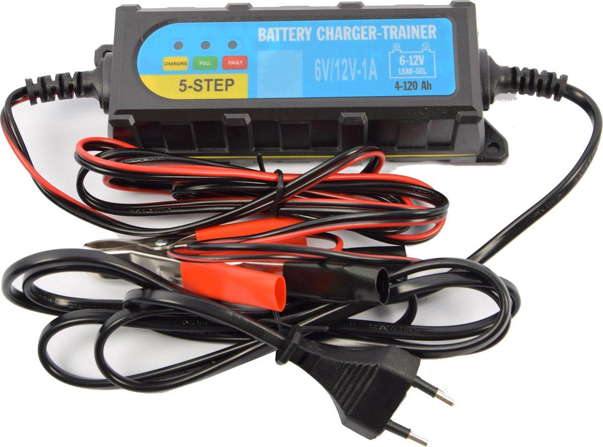 Accu druppel oplader 6 - 12 volt - Accu oplader