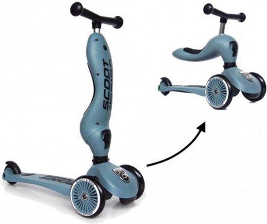 Scoot and Ride Highwaykick 1 Loopfiets / Step - Steel